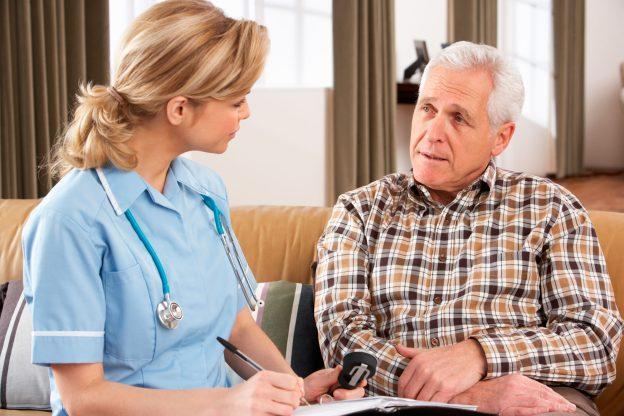 Elderly exam Urgent Care