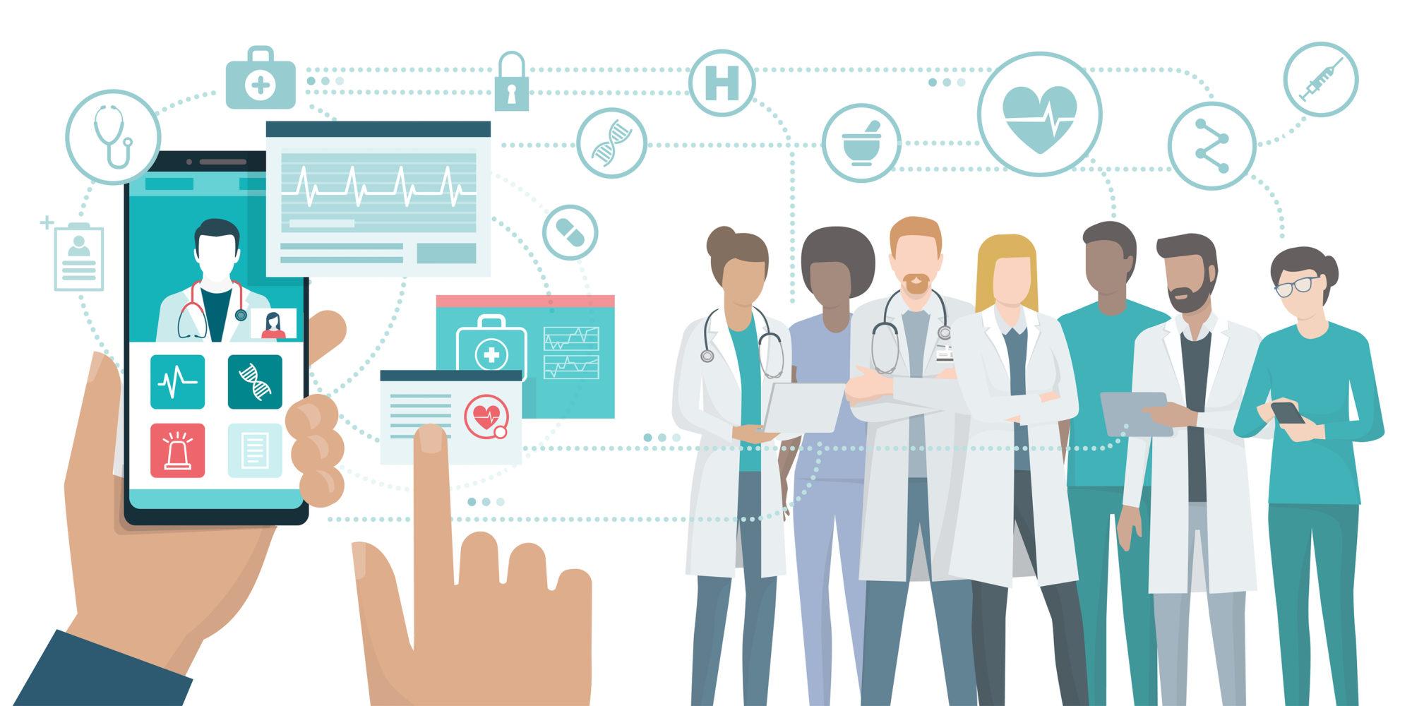Virtual Telemedicine Visit Illinois